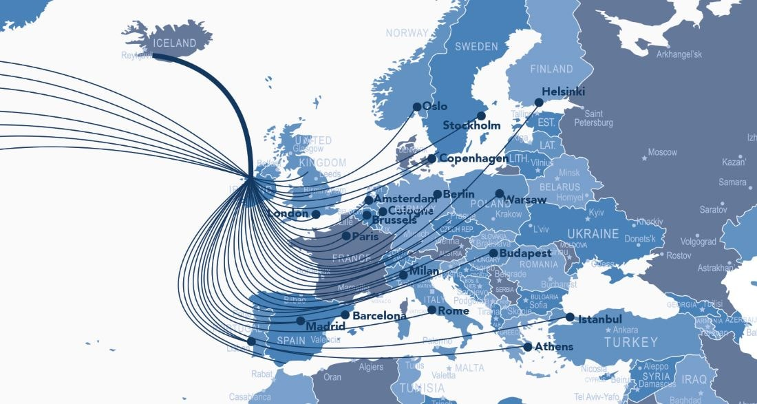 Air cargo to & from europe countries