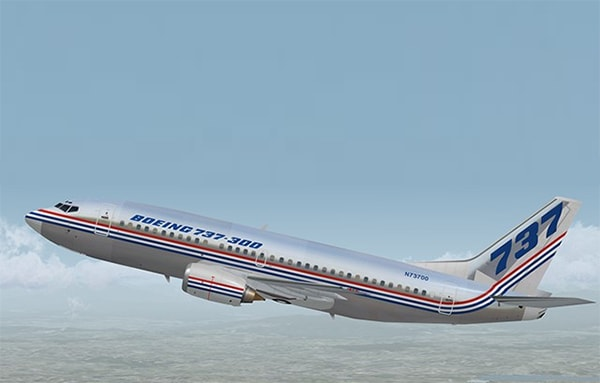boeing 737 400 history bluebird