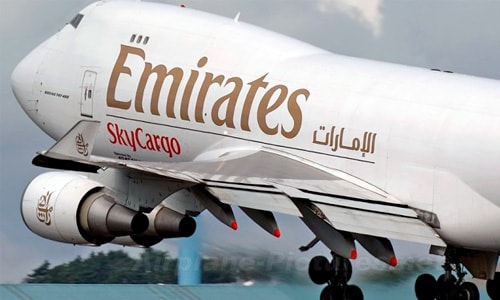 emirate air cargo bluebird